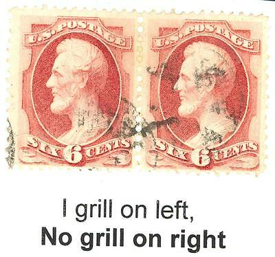 137a, HORIZ PAIR ONE WITHOUT GRILL - EXT RARE! CHB 125