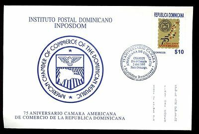 Dominican Republic 1998 Chamber Of Commerce FDC #C5549