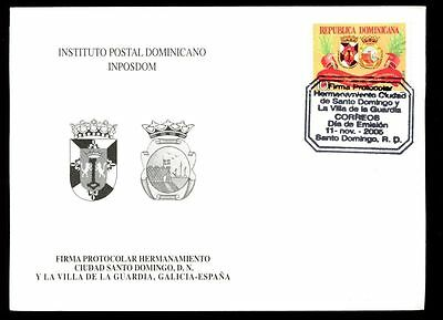 Dominican Republic 2005 Twinned Towns FDC #C5568