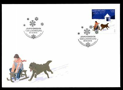 Luxembourg 2010 Christmas FDC #C5631