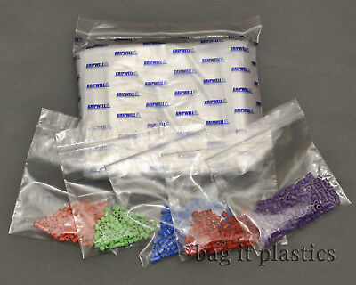Clear Plastic Gripwell Resealable Heavy Duty Grip Seal Storage Bags Self Seal