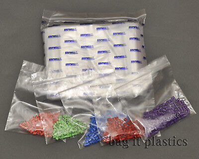 Grip Seal Bags Heavy Duty Self Seal Gripwell Plastic Resealable Clear Storage