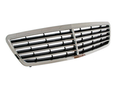 Mercedes W203 203 C-Class 00-07 Avantgarde Tuning Chrome Front Grill Grille New