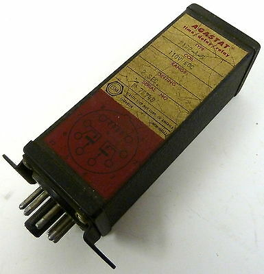 Agastat Time Delay Relay 2122-A-5 110V 60Cycle 2 Sec Setting