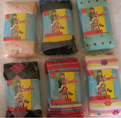 Girls Warm Winter Tights w/Designs (Asst003)  School Uniform Party Dress Pageant