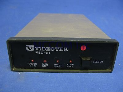 Videotek VSG-21 Color Sync and Test Signal Generator