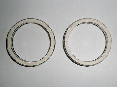 EXHAUST GASKETS for KAWASAKI ER6F 650 Set of  2