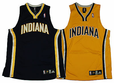 28c41e79c Adidas Indiana Pacers NBA Authentic INDIANA Team Basketball Jersey
