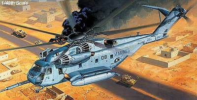 1/48 ACADEMY CH-53E SUPER STALLION 'U.S.MARINE' HELICOPTER 12209 MODEL KIT