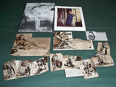 Martha Raye -  Film Star  Clippings - Cuttings Pack