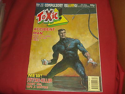 TOXIC #12 2000 AD A.D. Spin-off UK Comic 1991