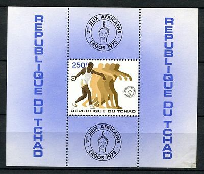 Chad 1973 SG#MS399 2nd African Games MNH M/S #A31924
