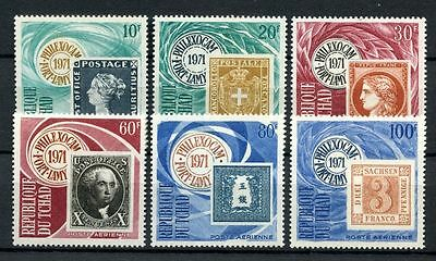 Chad 1971 SG#321-6 Philexocam Stamp Exhibition MNH Set #A31957