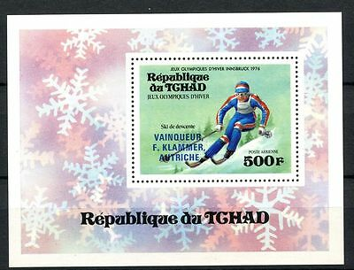 Chad 1976 SG#MS441 Winter Olympics MNH M/S #A31927