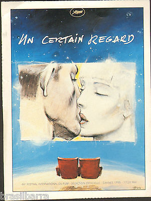 "AFFICHE FESTIVAL DE CANNES 1995 - Section ""Un certain Regard"""