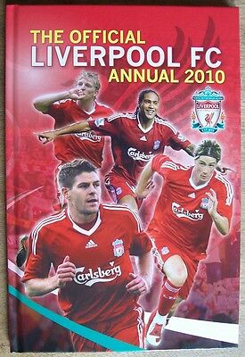 The Official Liverpool FC Annual 2010, Soccer, Football, Hardcover