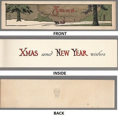 [35313] Old Gibson Lines Christmas Card