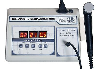 New Original Ultrasound Therapy Machine 1Mhz for Pain Relief Therapy Delta 7 OEM