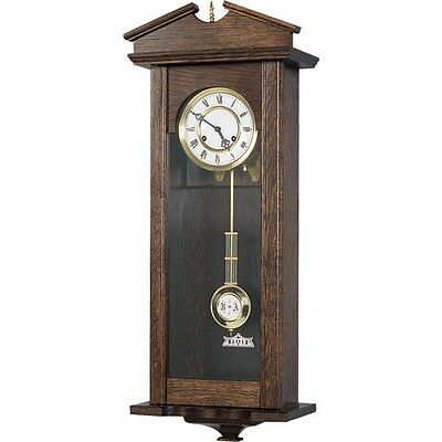 Regulator Clock with Hermle 8 Day Spring Wound Movement - 124