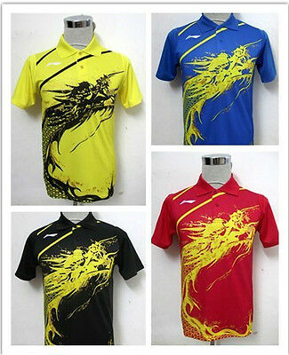 Li-Ning Man's London 2012 Olympic Games T-Shirt Table Tennis,Ping Pong