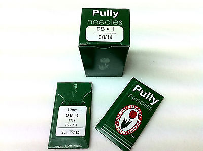 Pully 100 Industrial Sewing Machine Needles Dbx1 16X231 For Brother, Singer, Etc