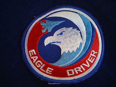 EAGLE DRIVER MILITARY PATCH NEW