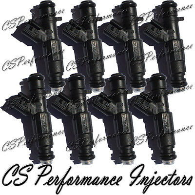 8 OEM Bosch Fuel Injectors Set Rebuilt /& Flow Matched in the USA! 0280155923