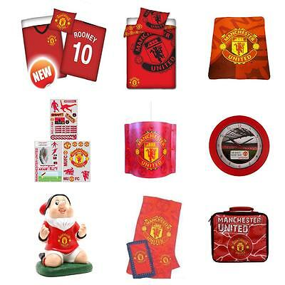 Manchester United Bedroom Accessories Bedding Lighting & More! Football Club