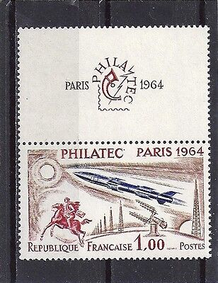 Stamp / Promo / Timbre  Neuf Luxe °° N° 1422 Philatec Paris 1964 Avion