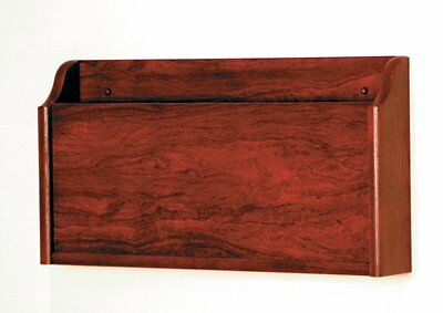 "Wooden Mallet X-Ray Wall Pocket Mahogany Xr-1Mh , 3.8"" X 22.5"" X 12"" New"