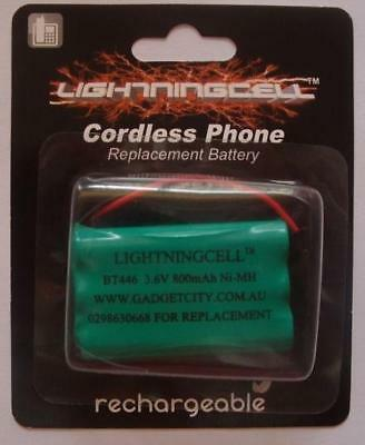 3 X Uniden Bt446 Cordless Phone Replacement Battery 800Mah 3.6V