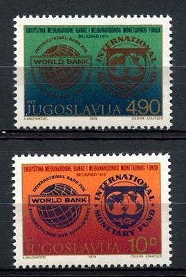 Yugoslavia 1979 SG#1895-6 Bank Int. Monetary Fund MNH Set #A33150