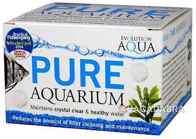 Evolution Aqua Pure Aquarium 50 Balls Fish Tank Start Up Clear Water Treatment