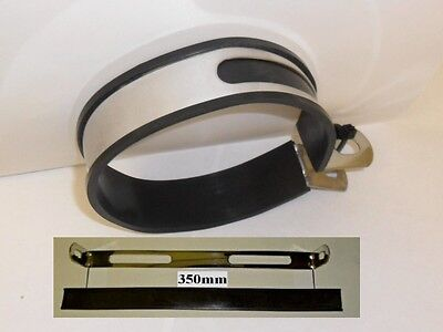 Exhaust End Can Hanger Bracket Stainless Silencer Clamp Strap 350 Mm
