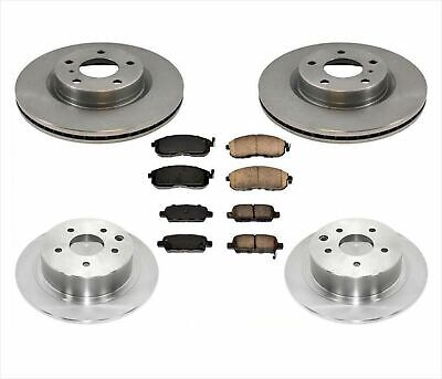 STOPTECH SPORTSTOP SLOTTED FRONT L/&R BRAKE ROTORS FOR 05-06 PONTIAC GTO