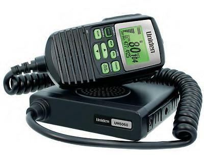 Uniden Uh5060 Nb 80 Channel Lcd Speaker Microphone Uhf Radio+Cars Truck 4Wd's