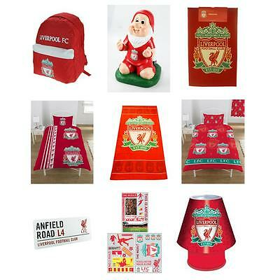 Liverpool Fc Bedroom Accessories Bedding 100% Official New
