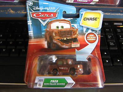 Disney Cars Lenticular Chase Fred With Fallen Bumper