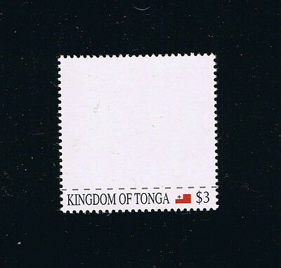 "Tonga ""Blank Stamp"" 2012 Issue with Flag"