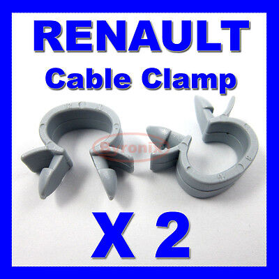Renault Cable Pipe Clamp Wires Wiring Loom Harness Clip Holder