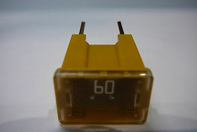 1 x 60 AMP PAL MALE FUSE SLOW BLOW (60A PAL FUSE)