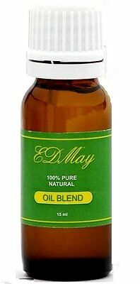 EDMay Focus Massage Oil Blend Focus Clarity & Concentration the Natural Way 15ml