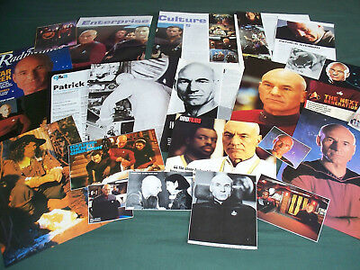 Patrick Stewart - Film Star - Clippings /cuttings Pack