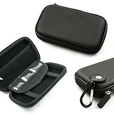 Black Hard Shell Carrying Case for LaCie Porsche Design P'9220 P'9221 P'9223