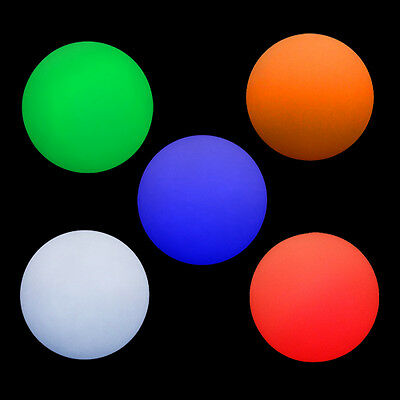 3 x LED Juggling Ball - Solid Colours - Glow Light Up Balls - Batteries Included