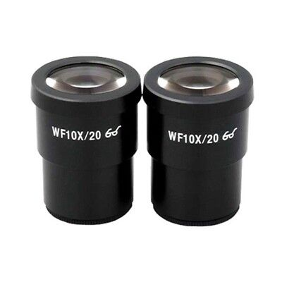 AmScope EP10X30 Pair of Super Widefield 10X Microscope Eyepieces (30mm)