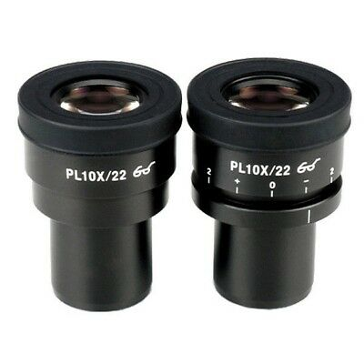 10X Focus Adjustable Plan Eyepieces for Zeiss, Leica and Nikon (30mm)