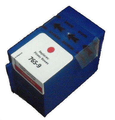 New Compatible Pitney Bowes 765-9 Red Cartridge DM300c DM400c DM450c Free Ship!