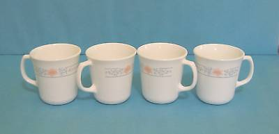 Corelle Corning Apricot Grove Cups  lot of 4