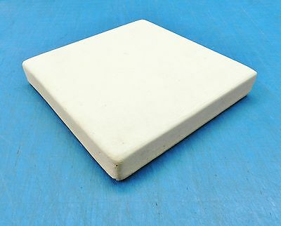 "CERAMIC BOARD SOLDERING HEAT PLATE JEWELRY BENCH 6""x6"" SQUARE TILE 1"" THICK"
